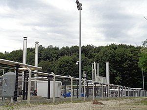Natural gas field - Vučkovec Gas Field facility, Croatia