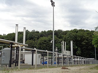 Petroleum reservoir - Vučkovec Gas Field facility, Croatia