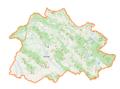 Powiat brzozowski location map.png