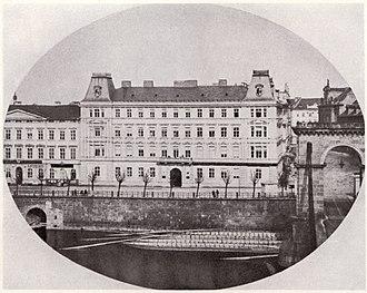 Vojtěch Ignác Ullmann - Image: Prague Lazansky Palace 1865