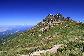 Mount Gassan mountain in Yamagata Prefecture, Japan