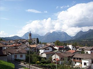 Preone Comune in Friuli-Venezia Giulia, Italy
