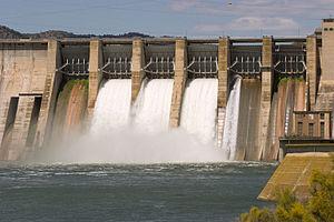 Mequinenza Dam - Image: Presa de Mequinensa