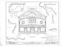 Presbyterian Church, North Chinabee and East Clinton Streets, Jacksonville, Calhoun County, AL HABS ALA,8-JACVI,3- (sheet 4 of 7).png