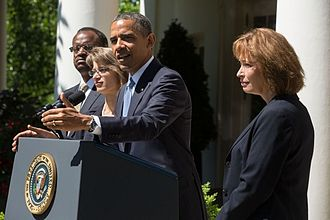Patricia Millett - President Barack Obama delivers a statement announcing the nomination of Robert L. Wilkins, Nina Pillard, and Patricia Millett