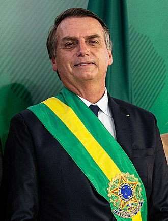 President of Brazil - Image: Presidente Jair Messias Bolsonaro