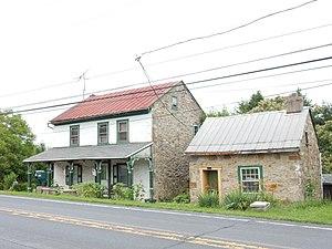 Ruscombmanor Township, Berks County, Pennsylvania - Image: Pricetown Rd, Pricetown Berks Co PA
