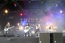 El grup al Bloodstock Open Air del 2008