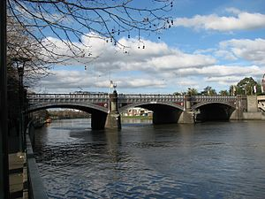 John Harry Grainger - Princes Bridge, Melbourne, designed by John Grainger