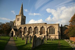 Deeping St James - Image: Priory church of Deeping St.James geograph.org.uk 622715