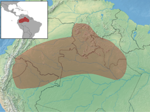 Proechimys quadruplicatus distribution (colored).png
