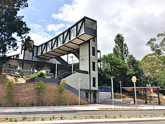Mark Coure - Image: Profile Views of Oatley Railway Station, December 2016 (1)