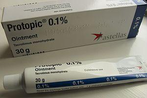 Tacrolimus - Tacrolimus 0.1% ointment