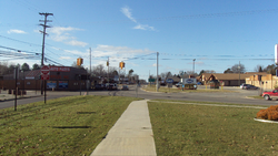 Prudenville along Houghton Lake Drive (M-55)