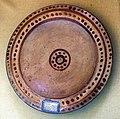 Pruduzione etrusca, piattello in terracotta, VI sec. ac..JPG
