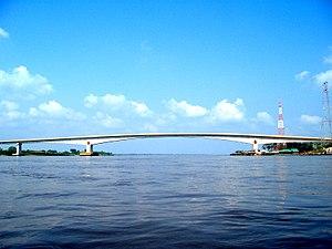 Yondó - Image: Puente Rio Magdalena