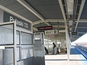Image illustrative de l'article Pulaski (Ligne orange CTA)