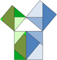 Pythagorean theorem rearrangement.svg