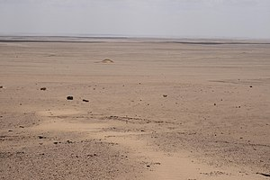 Qattara Depression - View of the Qattara Depression