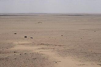 Qattara Depression - View of the Qattara Depression