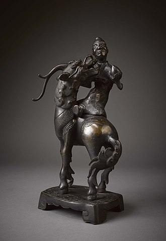 Qilin - Qilin with Rider, c. 1800-1894, from the Oxford College Archives of Emory University