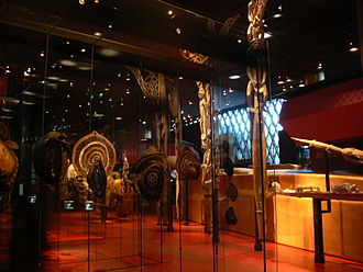 Musée du quai Branly - Jacques Chirac - View of the African exhibit hall