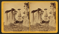 Quaker wedding. (View of rock formations.), by James Collier.png
