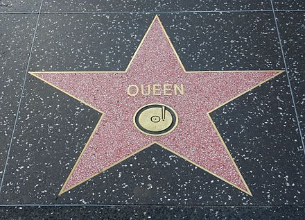 Queen's star on the Hollywood Walk of Fame at 6358 Hollywood Boulevard Queen-star-hollywood.jpg