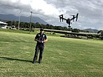 Queensland Police Service drone, Remotely Piloted Aircraft Systems (RPAS), 2018.jpg