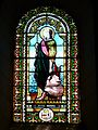 Quinsac (Dordogne) église vitrail (3).JPG