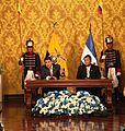 Quito, Visita Oficial del Presidente de Honduras al Ecuador (13133871403).jpg