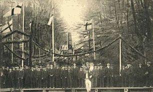 Linnéfesten i Råtro den 21 maj 1907