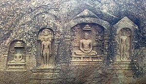 Samanar Hills - Image: RELICS OF JAINS Bas relief sculptures