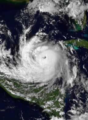 Hurricane Roxanne Category 3 Atlantic hurricane in 1995
