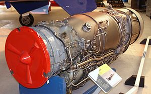 Rolls-Royce Turbomeca Adour - An Adour Mk 102 at the Royal Air Force Museum Cosford