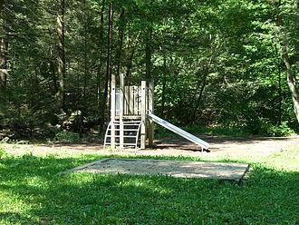 Ravensburg State Park - The playground at Ravensburg State Park