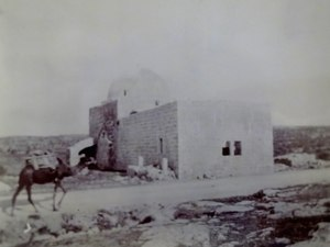 Rachel - Rachel's Tomb, near Bethlehem, 1891