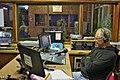 Radio Orania, gisteraand, met Hannes Snyman agter die klankbord.jpg