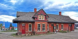 Leadville, Colorado and Southern Railroad - Leadville depot, Leadville, Colorado and Southern RR