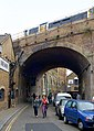Railway arch over Stoney Street, Borough, south London - geograph.org.uk - 1522151.jpg