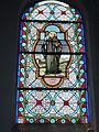 Raimbeaucourt (Nord, Fr) église, vitrail 02.JPG
