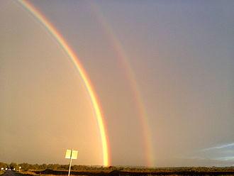 Keenagh - Rainbow near Keenagh.
