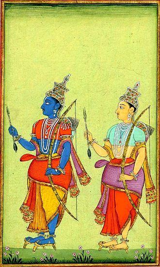 Balabhadra - Rama and Lakshmana are the eighth set of Baladeva and Vasudeva according to the Jain universal history
