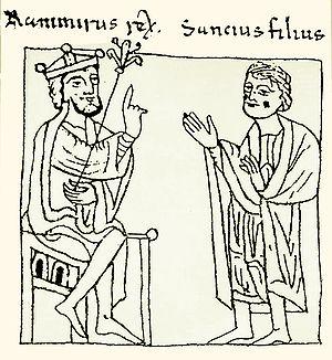 Sancho Ramírez - Image: Ramiro I y Sancho Ramírez