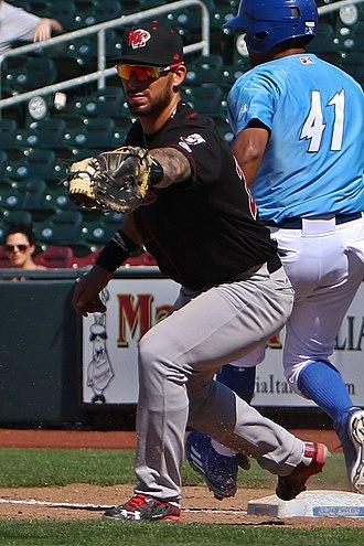 St. Louis Cardinals minor league players - Image: Rangel Ravelo and Jorge Bonifacio (cropped)