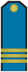 Rank insignia of Сержант of the Bulgarian Air forces.png