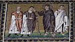Ravenna, sant'apollinare nuovo, int., storie cristologiche, epoca di teodorico 15 guarigione di un cieco.jpg