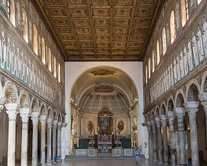 Basilica of Sant'Apollinare Nuovo - View towards the Apses