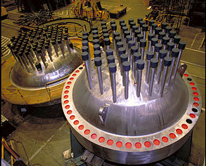 Pressurized water reactor - Image: Reactor Vessel head