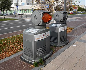 Automated vacuum collection - Pneumatic refuse collection in Vitoria-Gasteiz, Basque Country, Northern Spain